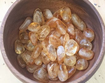 Gold Citrine Stone, Citrine Brazil Crystal, AAA Grade Citrine, Citrine Stone, Citrine Stumbled Stone, Citrine Gemstone, Golden Crystal,