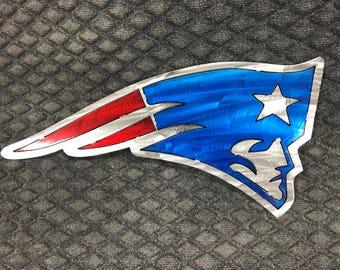 New England Patriots Metal Sign