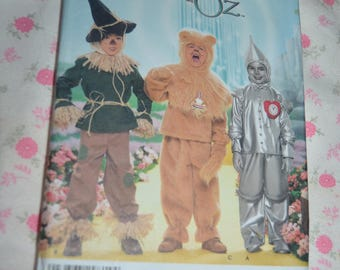 Simplicity 4133 Childs Wizard of OZ Costume Sewing Pattern - UNCUT  - Size 3 4 5 6 7 8