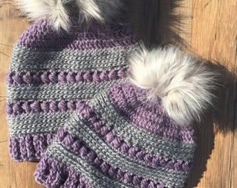 Winter Hats with Pom Pom