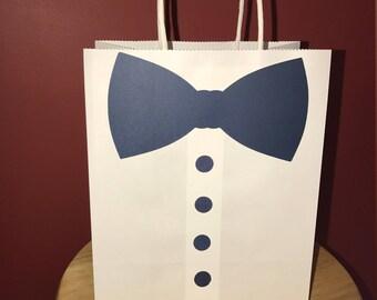 Groomsman Bow Tie Gift Bag