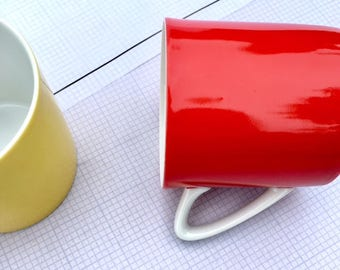Ketchup & Mustard  Coffee Mugs - Set of 2