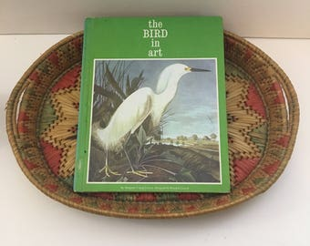 Vintage Bird Book / the BIRD in art / 1970's Bird Book