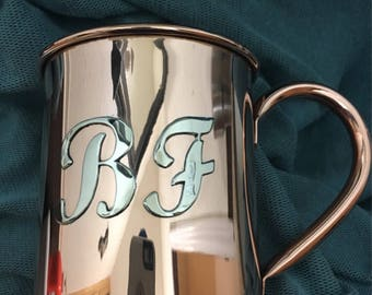 Custom copper mugs, Moscow mule cups
