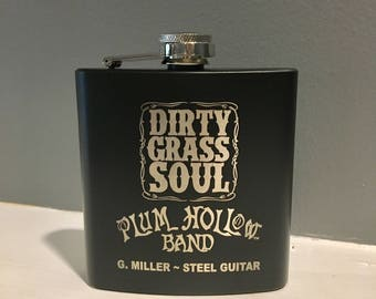 Custom Flask, Personalized Flask, Engraved Flask