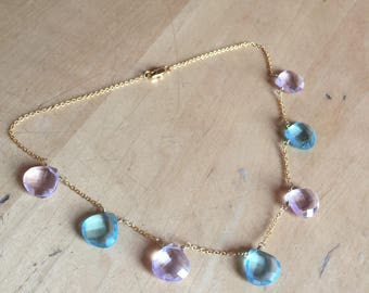 Necklace Chalcedon