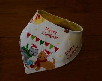 Baby Bandanna Bib (Christmas)