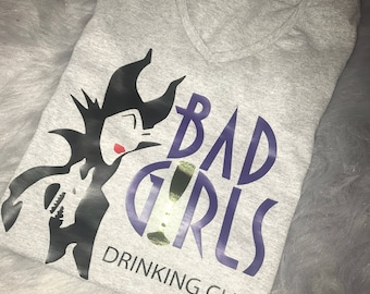 Bad Girls Drinking Club EPCOT Food and Wine Festival Shirts