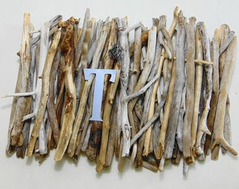 """Natural Freshwater Driftwood - 65 pieces 8""""-12"""" long - Lot T"""