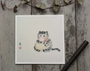 Funny Sorry Card, Funny Leaving Card, Blank Note Cards, Blank Greeting Cards, Funny Greeting Cards Blank, Funny Cat Card, Funny Apology Card