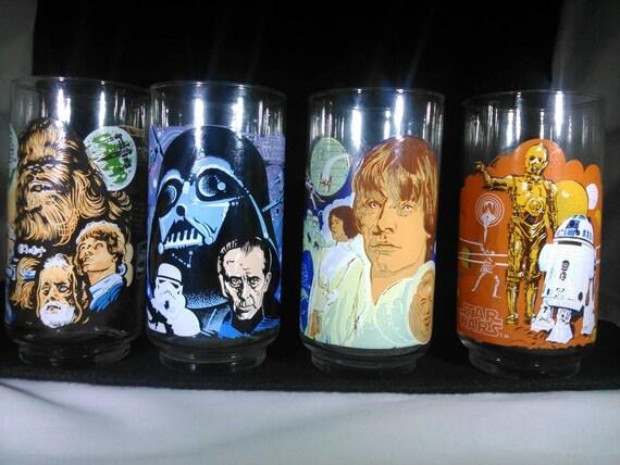 1977 Star Wars glasses complete set