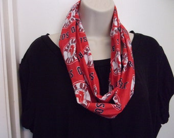 Red Sox Red Infinity Scarf