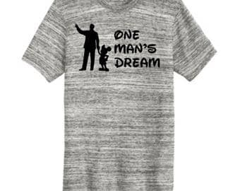 One Man's Dream Men's Tee