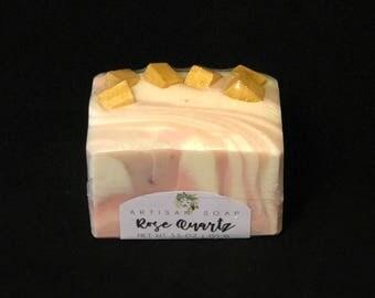 Rose Quartz | Handcrafted Artisan Soap | XL Size