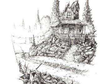 The Homestead - print