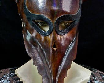 UNIQUE LEATHER MASK