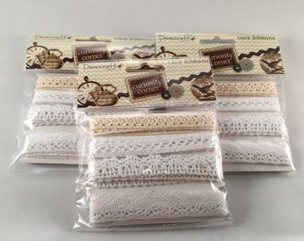 Curiosity Corner Lace Ribbons
