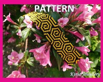 Peyote pattern - spirals