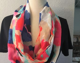 Colorful Spring Infinity Scarf