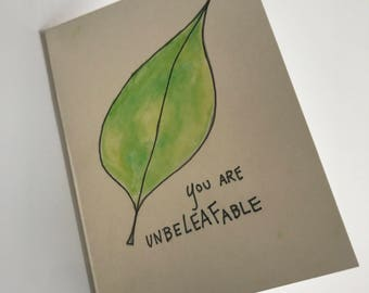 UnbeLEAFable Card