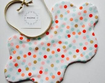 Pretty cloud confetti - PICPIC small ideas owls for moments chic bib
