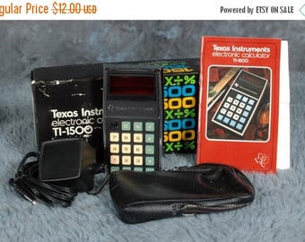 Summer Sale Texas Instruments TI-1500 Electronic Calculator with Box