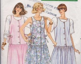 Butterick Misses' Maternity Dress, Jumper & Top