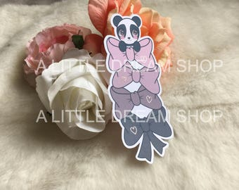 Panda Die Cuts Bookmark WITH FOIL - Choose your palette!