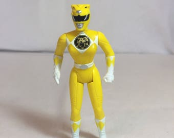 Vintage 1995 Yellow Power Ranger