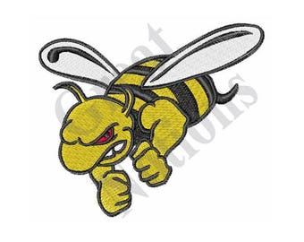 Yellow Jacket - Machine Embroidery Design