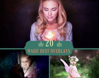 20 Magic Dust Overlay, Photoshop Overlay, Magic lights, Fairy overlays, Magic overlays, Digital backdrop, Dust overlays, Floating Dust, JPEG