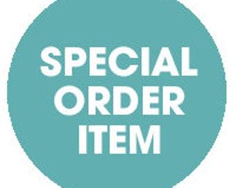 Special order item (reserved)