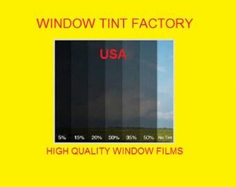 """professional window tint Uncut by the roll Medium Dark 15%  20"""" 24"""" 30"""" 36"""" 40"""" 60"""" x 100 feet"""