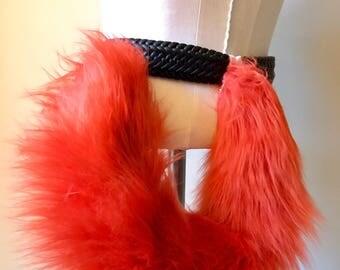 Red Orange Kittenplay Tail 24'