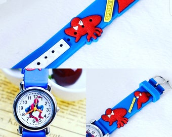 Spiderman Watch | Kids Watches | Boys | Spiderman | Gift's For Kids| Son | Daughter FREE SHIPPING