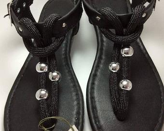 Casual Sandals, T Strap Sandals, Black Sandals, Open Toe Sandals, Flat Sandals, Thong Sandals, Summer Sandals, Womens Sandals, Sandals Shoes