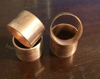 Napkin Rings (Set of 4), copper