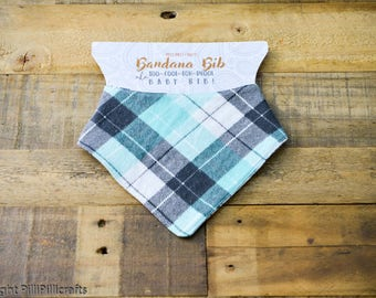 Reversible Bandana bib AKA Too-Cool-for-Drool-bib