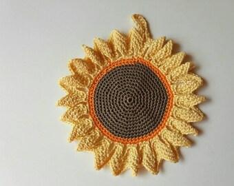 Crochet Cotton Pot Holder