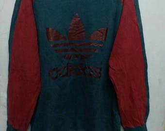 Vintage adidas big logo spellout sweatshirt M