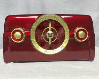 1953 Crosley 10-138 Vintage Dashboard Tube Radio