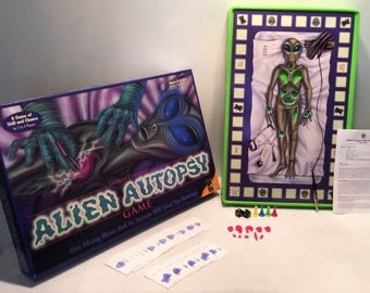 Alien Autopsy Game Complete Excellent Condition Works FREE SHIPPING