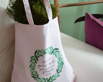 Tote Bag love you much