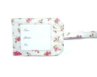 For luggage tag
