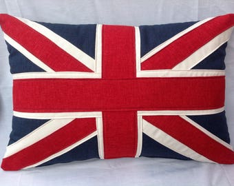 Traditional Highland union jack cushion