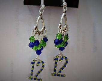 Crystal 12 earrings
