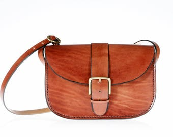 "Bag leather ""James"""