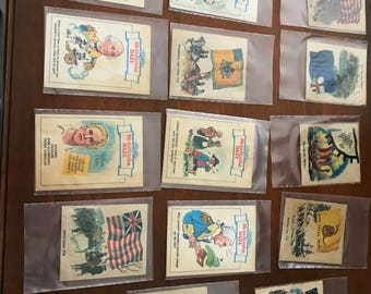14 Vintage Bicentennial Daze Cards