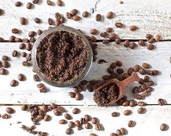 Coffee Sugar Scrub  (Handmade, edible, Vegan)