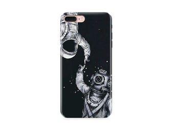 iPhone x case iPhone 8 Plus case astronaut case Samsung S8 case Samsung S8 Plus case iPhone 6 case iPhone 6 Plus case Samsung S7 case iPhone
